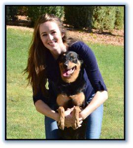 Jessa Sterling dog trainer w border